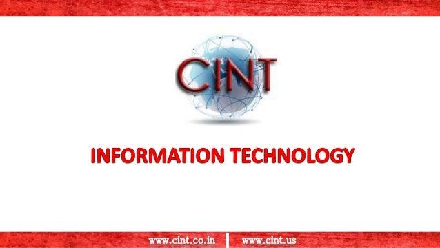 www.cint.co.in www.cint.us