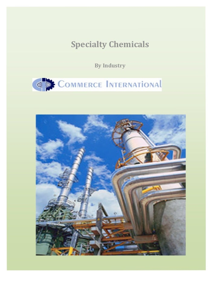 SpecialtyChemicals         ByIndustry