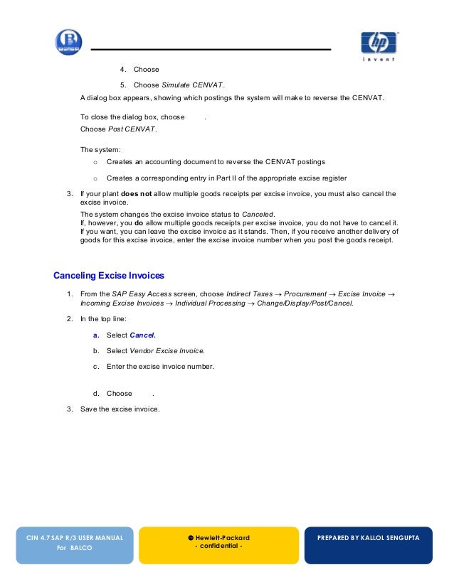 cin user manual rh slideshare net SAP Hybris SAP R 3 Tutorial