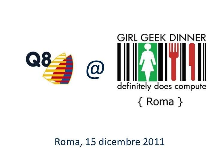 @Roma, 15 dicembre 2011