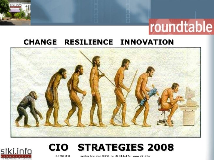 CIO  STRATEGIES 2008 CHANGE  RESILIENCE  INNOVATION