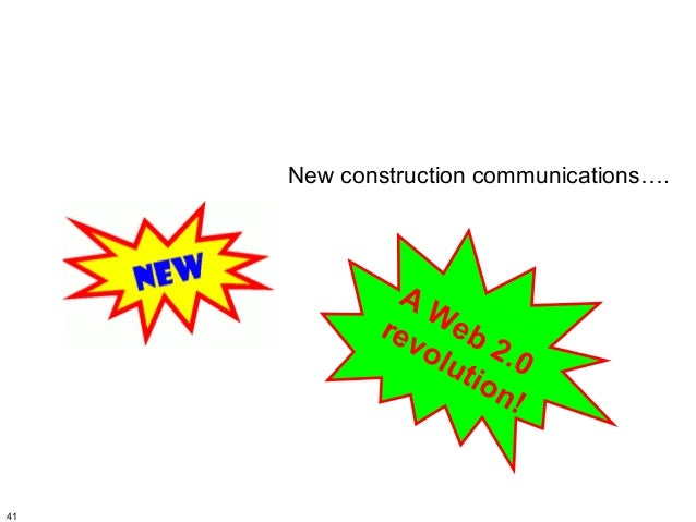 New construction communications….              AW            rev eb               o lu 2 .0                   t io        ...