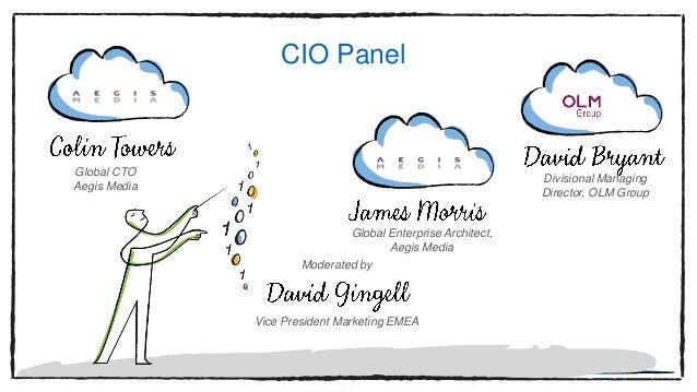 Global CTO Aegis Media Global Enterprise Architect, Aegis Media Divisional Managing Director, OLM Group CIO Panel Moderate...