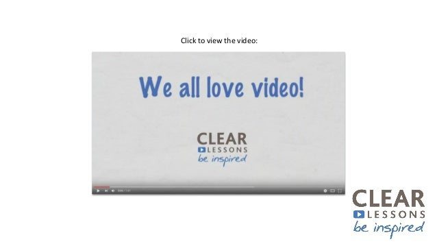 Why we love video - Towards Maturity and Clear Lessons at the CIPD L&D Show 2017 Slide 3