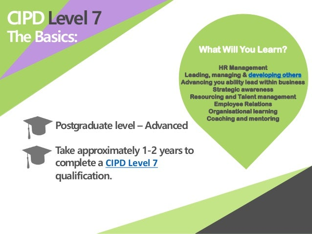 CIPD - CIPD Courses & Qualifications
