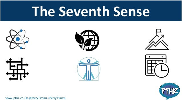 Grasping The Seventh SenseIs seeing how networks and the nature of the connected age, can FURTHER not ERODE the things we ...