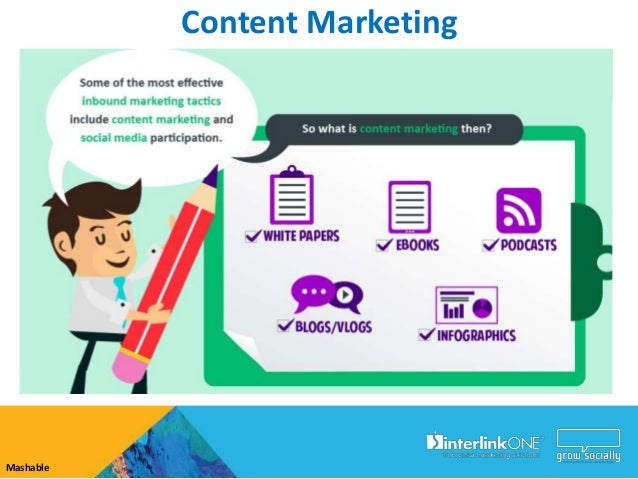 Growing Awareness with Content Marketing Capture Content     Share Content   Increase Awareness                        Web...