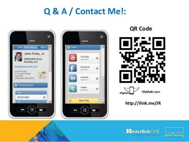 Learn More http://interlinkONE.com http://GrowSocially.comhttp://QReateAndTrack.com   http://iFlyMobi.com