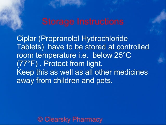 Controlled Room Temperature Pharmacy