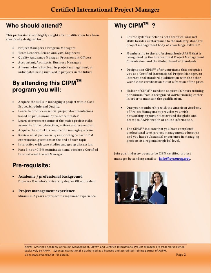 Cipm Certification Course