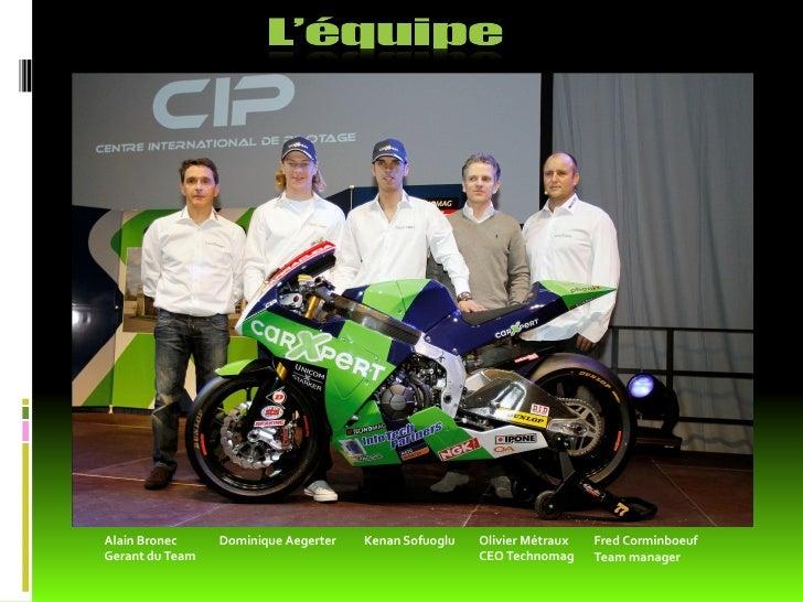 CIP                                             Fred Corminboeuf                                                Team manag...