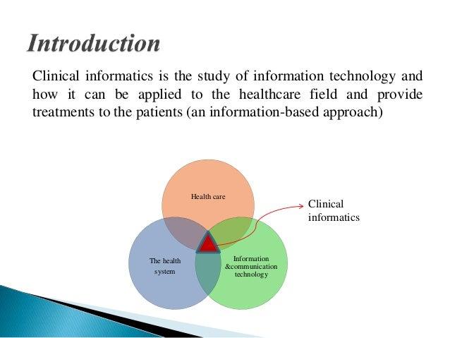 CLINICAL INFORMATICS Ppt - Clinical informatics job description