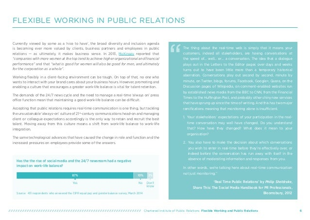 Cipr flexible working and public relations guide flexible working spiritdancerdesigns Gallery