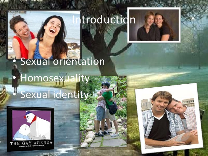 Introduction<br />Sexual orientation <br />Homosexuality<br />Sexual identity<br />