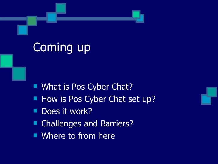 cyber chatting