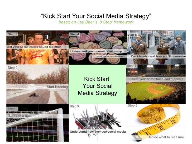 """ Kick Start Your Social Media Strategy"" based on Jay Baer's '8 Step' framework Kick Start  Your Social Media Strategy"
