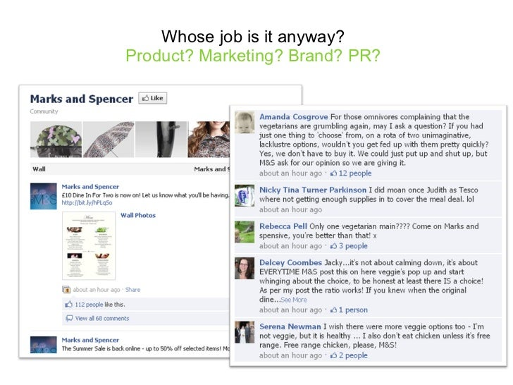 Whose job is it anyway?  Product? Marketing? Brand? PR?
