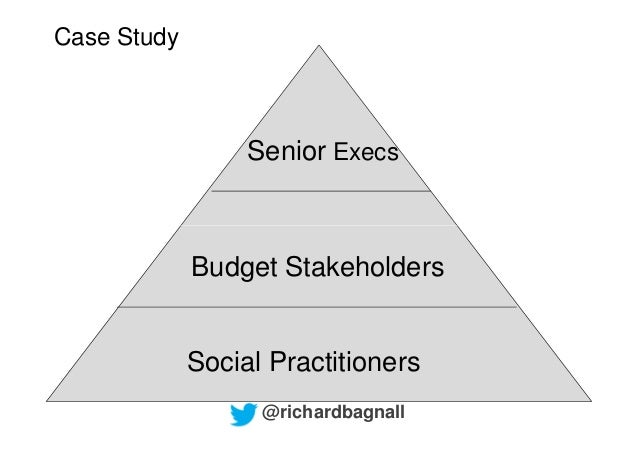 Case Study                  Senior Execs             Budget Stakeholders             Social Practitioners                 ...
