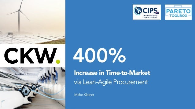 400% MirkoKleiner Increase in Time-to-Market 