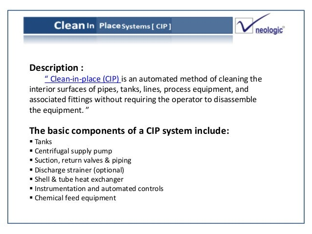 Clean In Place Cip System Cip Manufacturer Supplier Pune India