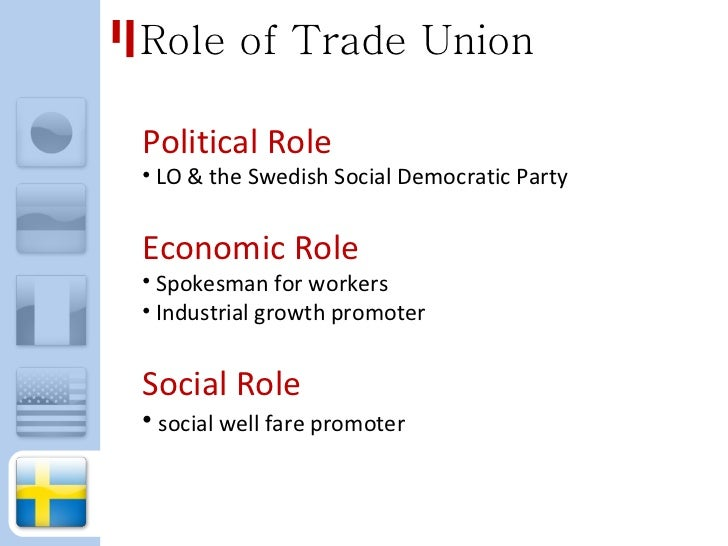 Role of trade unions in national