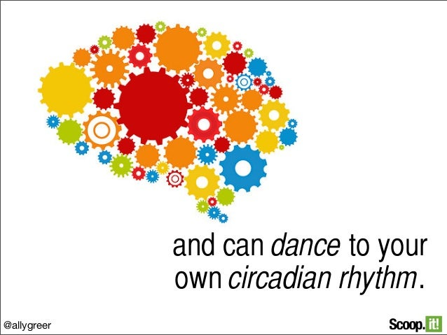 and can dance to your own circadian rhythm. @allygreer