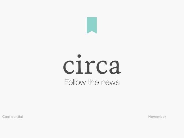 Follow the news NovemberConfidential