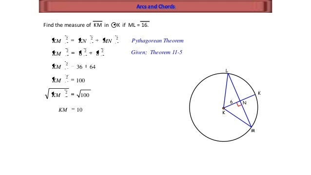 Circle geometry substitution 22 arcs and chords ccuart Image collections