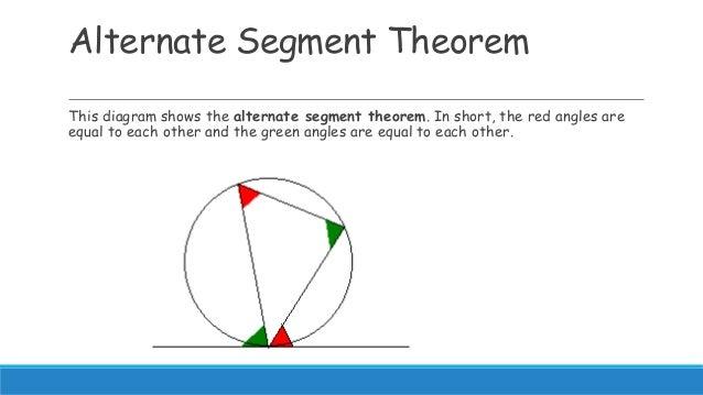 alternate segment theorem proof pdf