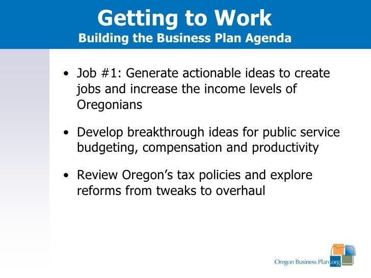 Oregon Business Plan gathering feedback for 2019 legislative session