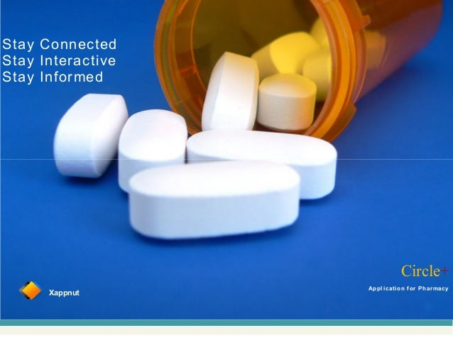 Circle+XappnutApplication for PharmacyStay ConnectedStay InteractiveStay Informed