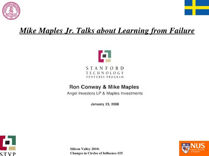 Mike Maples Jr. Talks about Learning from Failure