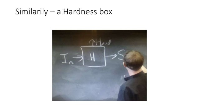 The box can be built with dwarfs, elves, silver atoms, atoms with a lot of neutrons, etc