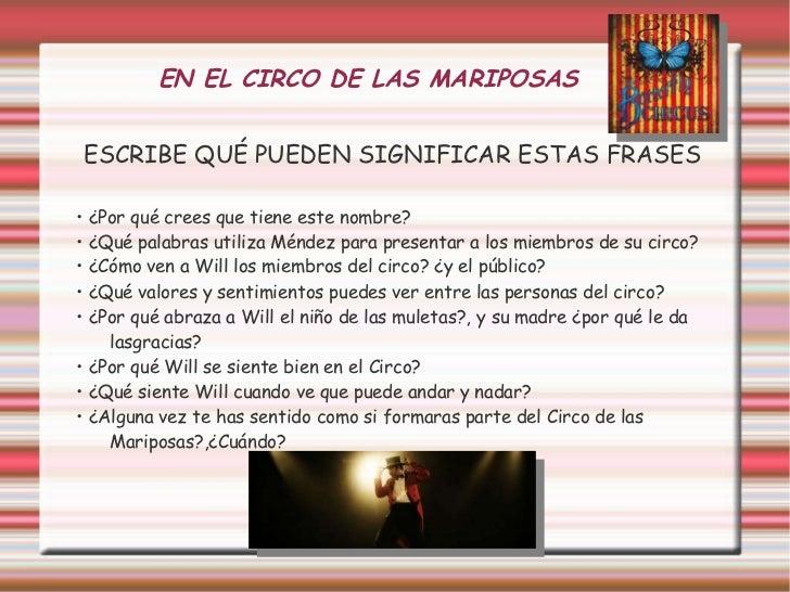 Circo De Las Mariposas