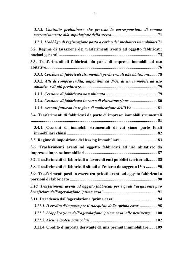 Circolare 18e anno 2013 imposta registro for Registrazione contratto preliminare