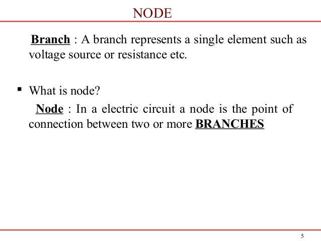 Node and mesh analysis