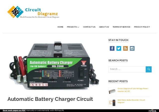 circuit diagramz comautomatic-battery-charger-circuit ... exide battery charger wiring diagram