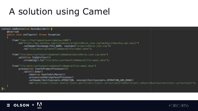Consuming External Content and Enriching Content with Apache Camel