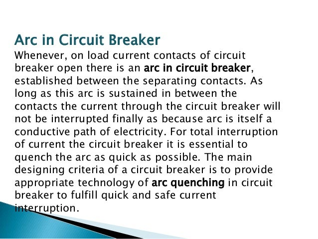 This type of circuit breakers, is those kind of circuit breaker which operates in air at atmospheric pressure. After devel...