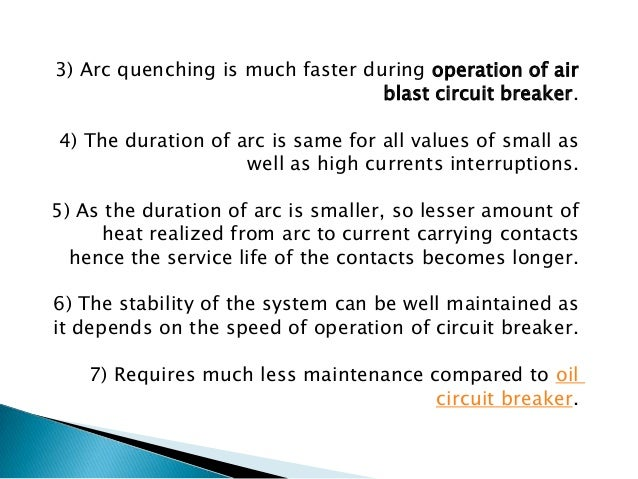 In Axial Blast ACB the moving contact is in contact with fixed contact with the help of a spring pressure as shown in the ...