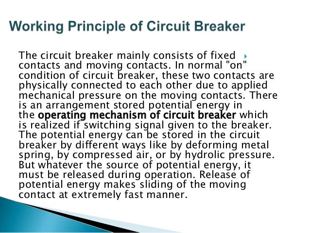 All circuit breaker have operating coils (tripping coils and close coil), whenever these coils are energized by switching ...