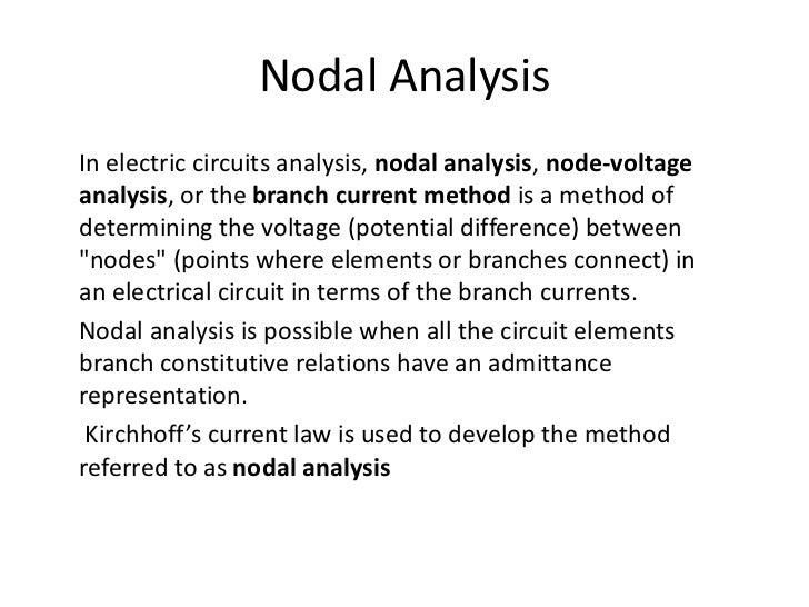 Circuit laws & network theorems