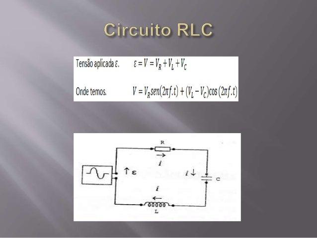 Circuito Rlc : Circuito rlc ressonÂncia e diagrama de fasores