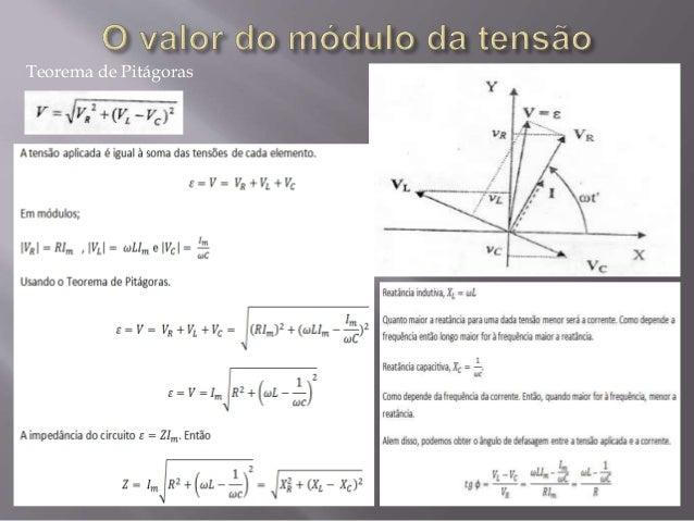 Circuito rlc ressonncia e diagrama de fasores teorema de pitgoras 9 ccuart Gallery