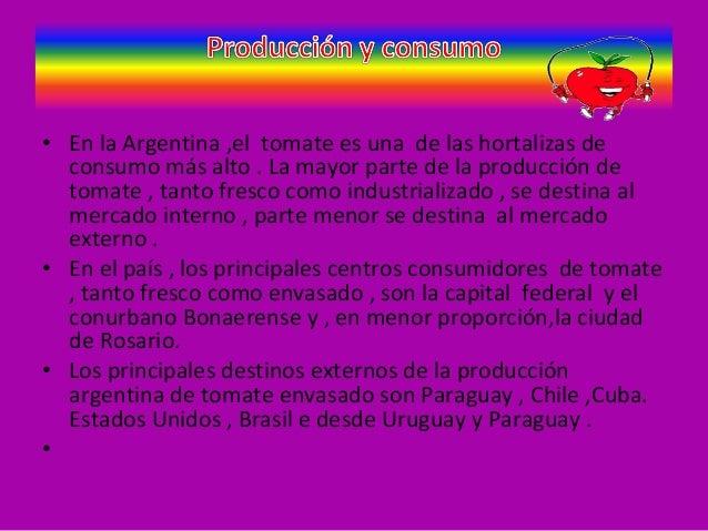 Circuito Productivo Del Tomate : Circuito del tomate