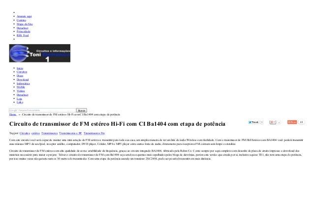 3 2 25  Anuncie aqui  Contato  Mapa do Site  Datasheet  Privacidade  RSS Feed  Início  Circuitos  Dicas  Download  Informá...