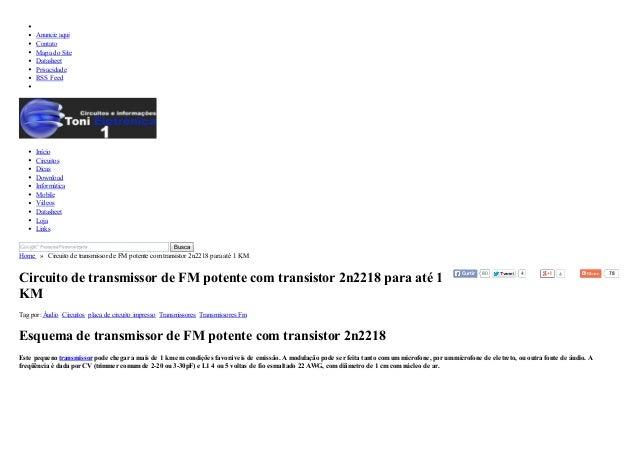 4 4 78  Anuncie aqui  Contato  Mapa do Site  Datasheet  Privacidade  RSS Feed  Início  Circuitos  Dicas  Download  Informá...