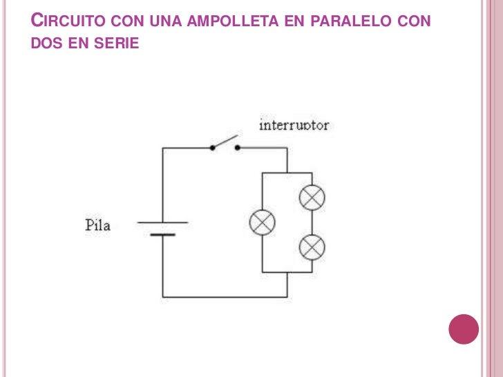Circuito Electrico En Serie : Circuito electrico
