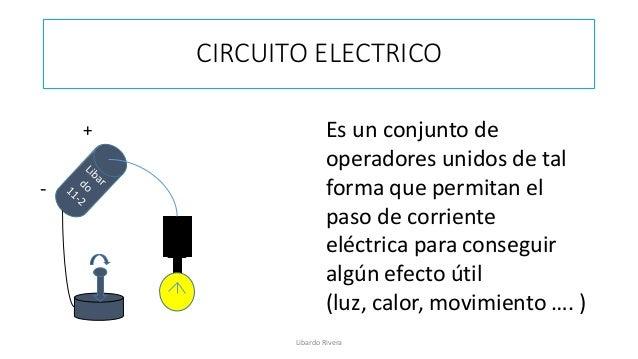 Circuito Yes : Circuito electrico
