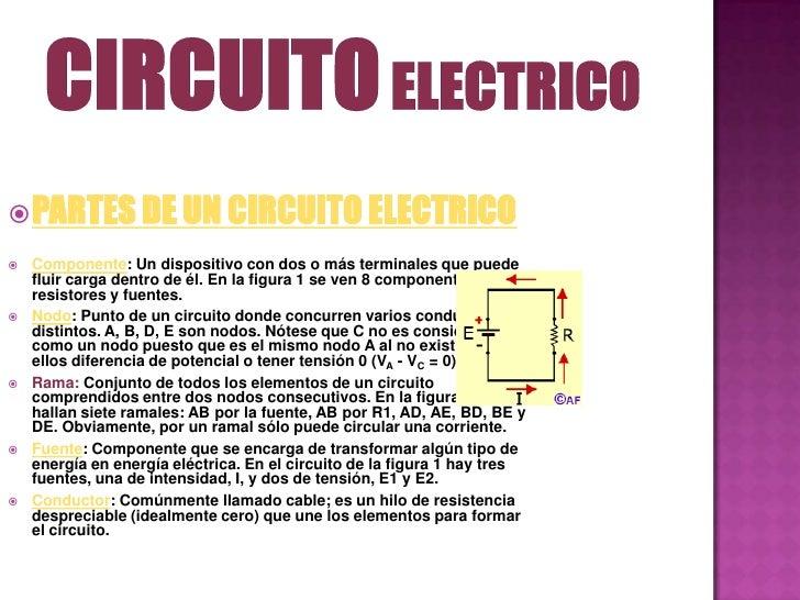 Circuito Y : Circuito electrico gualdron